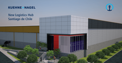 Kuehne + Nagel to open new logistics hub in Santiago de Chile