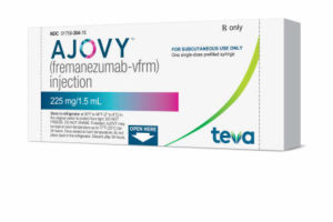 FDA approves Teva's Ajovy for preventive treatment of migraine