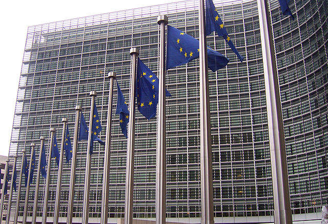Image: Head office of the European Commission. Photo: courtesy of Amio Cajander.