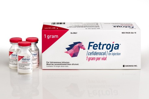 Shionogi's FETROJA now available for treatment of complicated urinary tract infections in US