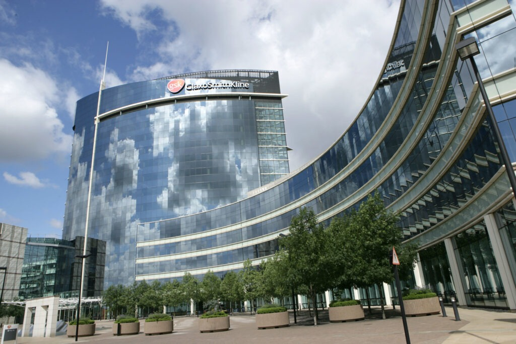 GSK's corporate headquarters in Brentford, London. (Credit: SmugMug+Flickr / GlaxoSmithKline plc)