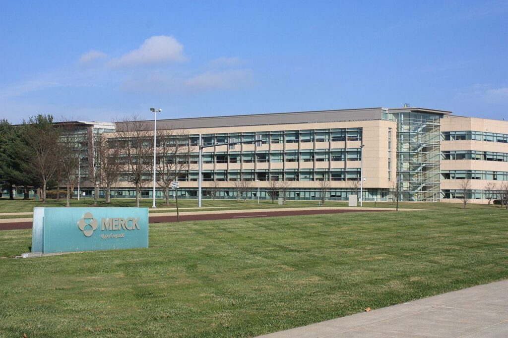 Merck office in Pennsylvania